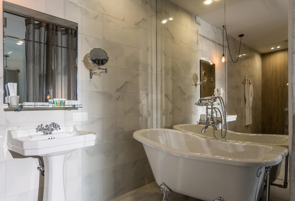 Ванная в Wall Street Hotel