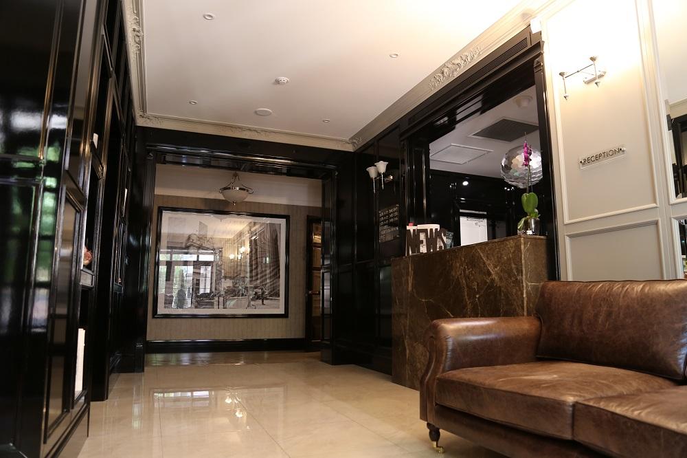 Ресепшн Wall Street Hotel с поразительным дизайном