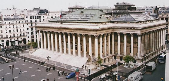 Парижская биржа - один из центров мировой экономики