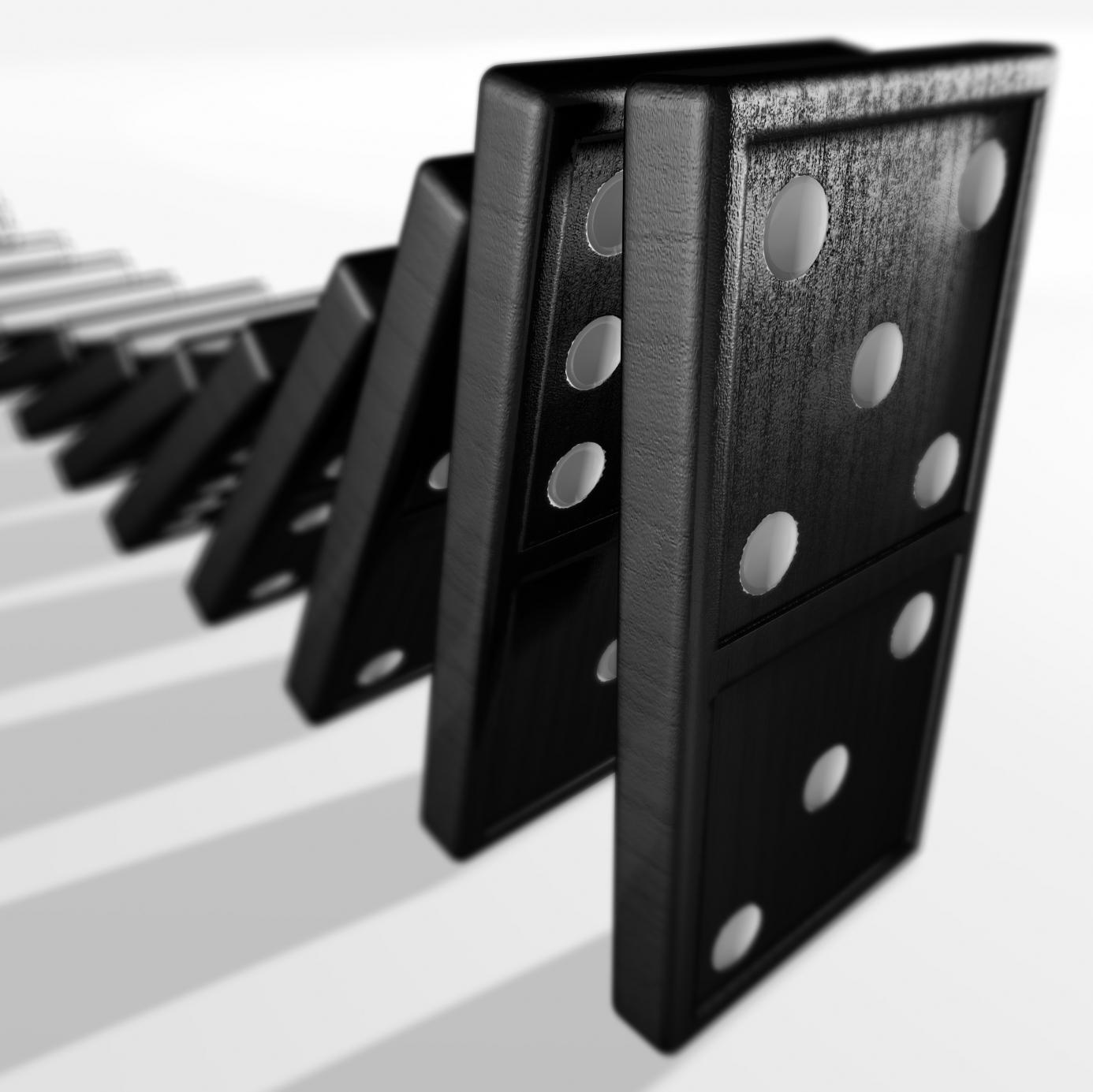 Эффект домино или цепная реакция на рынке Форекс